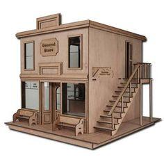 dollhouse kits | Brimbles Mercantile Dollhouse Kit Review