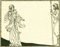 Illustration from Parsifal, 1912, Willy Pogany