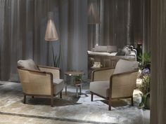 Flexform, made in Italy., Milan 2015: Mondo armchair in wood & reed, upholstered in cashmere., project by Antonio Citterio. #piso18casa-flexform #masaryk #flexform #luxury #luxurylifestyle #qualitybrand #beautifullifestyle #madeinitaly #piso18casa_flexform #italiandesign #contemporarydesign #contemporaryinteriors #contemporary #modern #modernfurniture #moderndesign #moderninteriors #luxuryfurniture #interiordesign #luxeinteriors #interiorarchitecture #polanco #furniture #antoniocitterio…