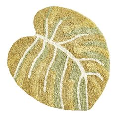 Add natural appeal to your bath with our exclusive Leaf Bath Rug. It's cotton and coordinates with a variety of linens and fixtures. Tropical Rugs, Bathroom Carpet, Papasan Chair, Dining Room Sets, Inspired Homes, Fall Decor, Furniture, Linens, Punch Needle
