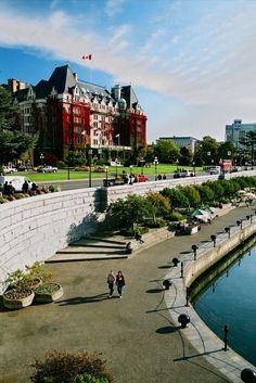 Empress Hotel & Victoria Harbour, British Columbia, Canada Victoria Bc Canada, Victoria British Columbia, Hotel Victoria, Victoria Harbour, Ontario, Alaska, Ottawa, Rocky Mountains, Viajes