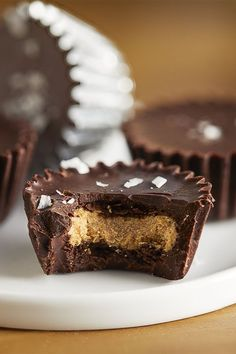 These dark chocolate nut butter cups are a quick and easy candy recipe! Make the best peanut butter cups using dark chocolate, peanut butter, and salt. You will love making these homemade candy for dessert, a snack, or to give out at Halloween!