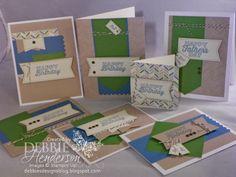 Stampin' Up! Paper Pumpkin kit for May 2014. Debbie Henderson, Debbie's Designs.