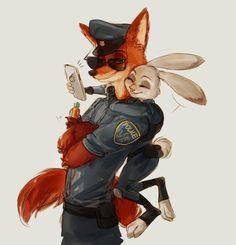 Shipping Judy & Nick
