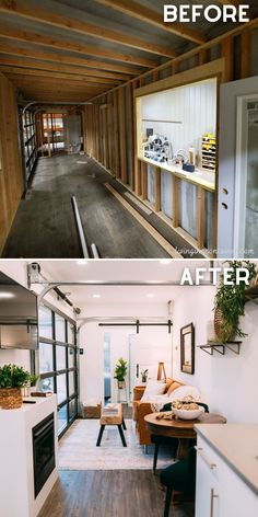 Shipping Container Interior, Shipping Container Cabin, Cargo Container Homes, Building A Container Home, Container House Plans, Container House Design, Tiny House Design, Shipping Containers, Tiny House Cabin