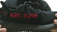 2f41e699610 Yeezy Boost 350 V2 Black Red