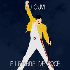 Marquem aqui seus amigos que curtem Freddie Mercury #freddiemercury #queen  #iconic #rock #music #lembreidevoce #projetocolaborativo #designgrafico #midiassociais #socialmedia #graphicdesign