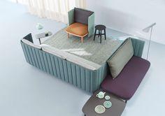 Ophelis Sum: A Modular Seating System Based Around Three Elements - Design Milk
