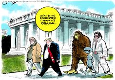 Editorial cartoon by Jack Ohman found on theweek.com on Friday, March 10, 2017