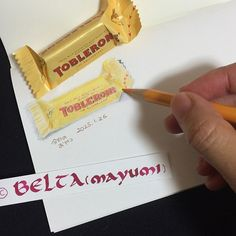 2015_01_25_toblerone_02_s Love TOBLERONE! 子どものころからの定番! for this drawing I used : Faber castell polychromos MIDORI Traveler'snotebook Stonehenge paper