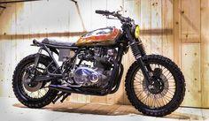 Cafe Racer Pasión — Kawasaki KZ Brat Style by Dude's motorcycles |...