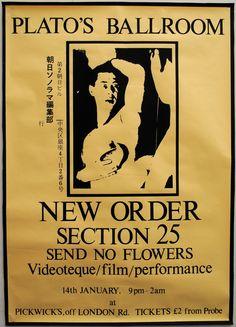 Plato's Ballroom Poster - New Order