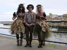 """""""Clever Scarecrow Costumes and by the looks of it taken in Whitby!!"""" This is me!!!!"""