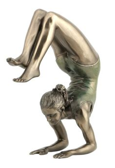 Yoga-Scorpion-Pose-bronze-figurine-sculpture-statue