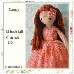 CROCHET DOLL, Finished doll, collectible doll, Amigurumi doll,plush doll…