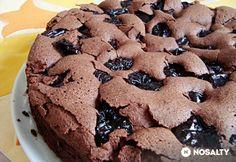 Aszalt szilvás torta tojásfehérjéből Brownies, Deserts, Cookies, Chocolate, Food, Cake Brownies, Crack Crackers, Biscuits, Essen