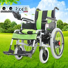 Foldable handdicapped cheap price motorized electric wheelchair conversion kit