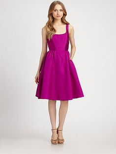 3a18dbebc82 Kate Spade Landry Silk Cotton Dress - ShopStyle Cocktail