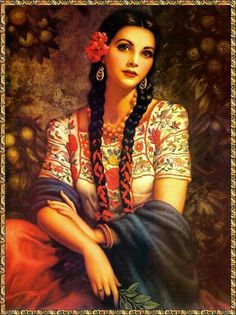 Mexican beauty  - for more of Mexico visit www.mainlymexican... #Mexico #Mexican #calendar girl #women