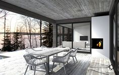 Modern Barn House, Outdoor Living, Outdoor Decor, Living Spaces, Cottage, Interior Design, Architecture, Furniture, Houses