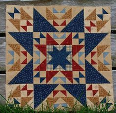 Meadowbrook : Odd Fellows Chain - There are not nearly enough Odd Fellows Chains kicking around Pinterest... best quilt block ever.