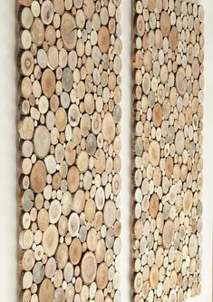 wooden wall art UK- a set of Tree rounds decor, tree slice wall board, modern wood art A set of 2 two wallboards tree slices. Beautiful and oryginal wall hanging decoration. We offer a set of two t Wall Art Uk, Tree Wall Art, Panel Wall Art, Wall Art Sets, Wooden Wall Art, Wooden Walls, Wood Art, Wall Wood, Log Wall