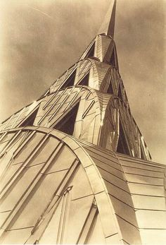 Margaret Bourke-White, Chrysler Building, 1931 by Gatochy, via Flickr