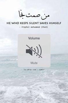 1love-1ummah silence being golden