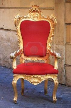 Emperor Throne Made With Gold And Red Velvet   Comprar Este(a) Foto Stock  No Shutterstock E Encontrar Outras Imagens.