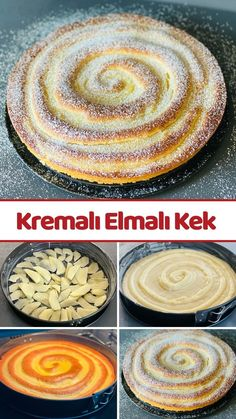 Food N, Food And Drink, Pasta Cake, Food Words, Turkish Recipes, Coffee Cake, Cupcake Cakes, Cooking Recipes, Yummy Food