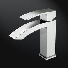 Lavatory Faucet, Bathroom Sink Faucets, Sinks, Basin Sink, Basin Mixer, Chrome Finish, Detroit, Bathroom Ideas, Waterfall