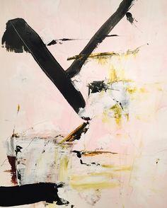 "Leigh Viner (@leighviner) on Instagram: ""Sunday Abstract • 18x24 mixed media on paper. #leighvinerstudio #art #abstractart #abstractsunday"""