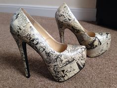 https://www.etsy.com/listing/198293880/marvel-sepia-decoupage-heels