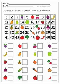 Math Addition Worksheets, Kindergarten Math Worksheets, Preschool Learning Activities, Math Classroom, Teaching Math, Preschool Activities, Math For Kids, Math Lessons, Menu Principal