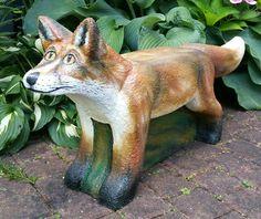 Fuchs, 3D-Ziel für Bogenschützen aus Ethafoam 400, Bogenschießen
