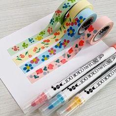 Diy Washi Tape Crafts, Washi Tape Uses, Washi Tape Storage, Washi Tapes, Washi Tape Journal, Washi Tape Planner, Tapas, Tape Art, Paper Tape