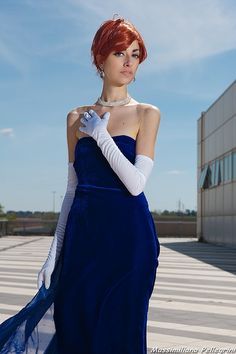Anastasia #cosplay   Romics April 2013