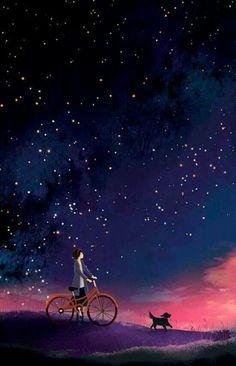...e le stelle...su di noi..