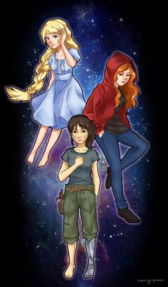 lunar+chronicles+winter | cherrysoprano:lunar chronicles girls, minus winter.first real piece i ...