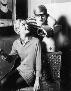 Edie Sedgwick and Andy Warhol, 1955