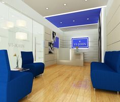 VI-john corporate office reception by sovia , via Behance