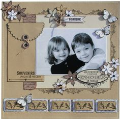 Baby cards photo children 63 ideas for 2019 Album Photo Scrapbooking, Baby Scrapbook Pages, Birthday Scrapbook, Scrapbook Paper Crafts, Scrapbook Albums, Scrapbooking Layouts, Scrapbook Designs, Creative Memories, Baby Art