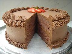 Layered Cakes | Yochana's Cake Delight! : Buttermilk Chocolate Layer Cake