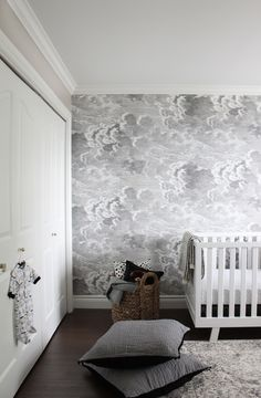 Marcus Design One Room Challenge Nursery Reveal Spring 2016 Great Wallpaper For A