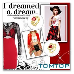 """""""TOMTOP +4"""" by hetkateta ❤ liked on Polyvore featuring vintage, tomtop and tomtopstyle"""