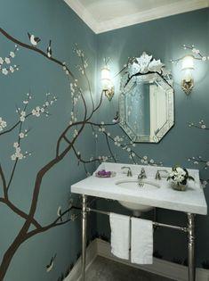 Photo of White Asian Bathroom project  by Graciela Rutkowski Interiors