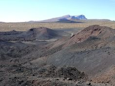 Siete Fuentes volcano area, tenerife, canarias