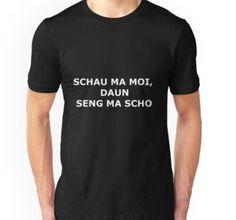'Schau ma moi, daun seng ma scho - Mundart Spruch Myriala' T-Shirt von Myriala Loose Fit, 99 Problems, Vintage T-shirts, Cassidy Nicole, Squats, V Neck T Shirt, Classic T Shirts, Slim, Unisex