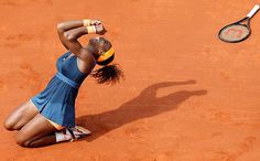Picture #9 of SI's 100 Pictures of the Year 2013 .. World #1 Serena Williams celebrates her 2nd French Open title in 11 years after defeating Maria Sharapova in the Championship Final on June 8. #SI100 #TeamRena!
