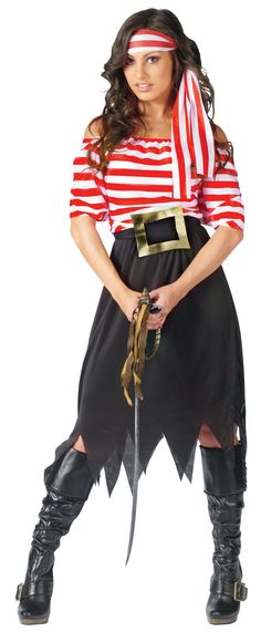 Women's Pirate Costume - Meijer Halloween 2014 jada wants to be this for halloween